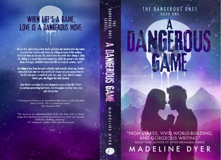 Cover Reveal for A Dangerous Game – Madeline Dyer
